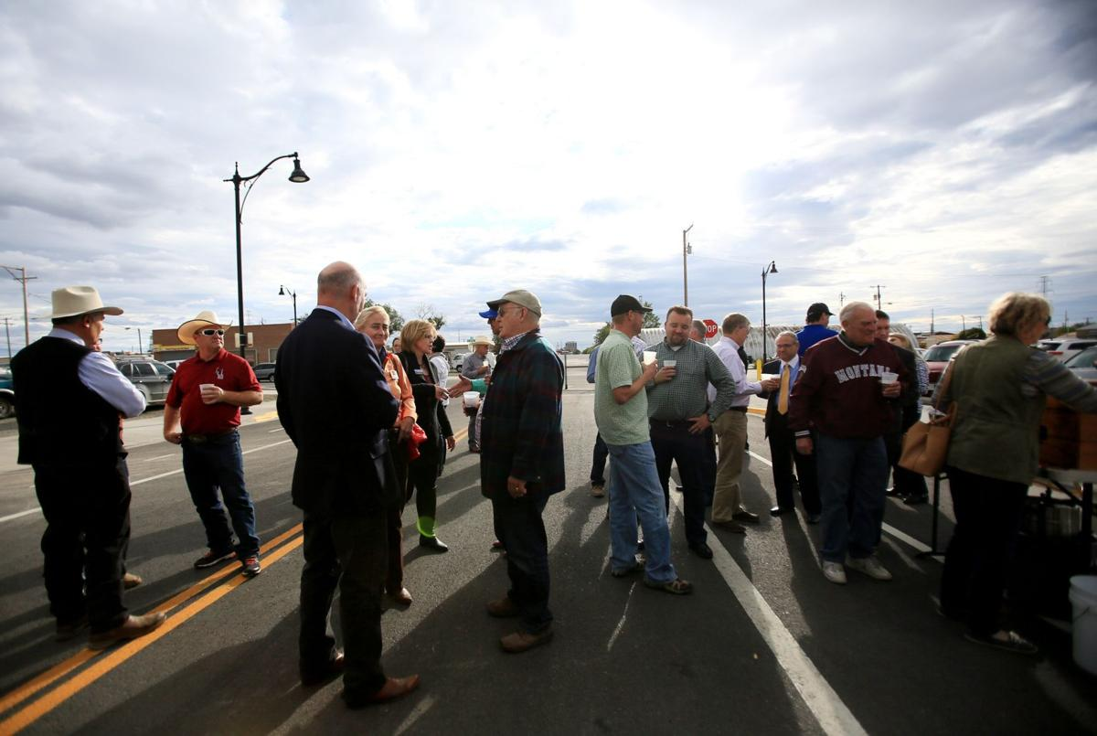 East billings celebrates improvements new asphalt incoming car bird bash solutioingenieria Image collections