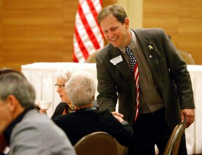 Derek Skees, a Republican candidate for Montana State Auditor