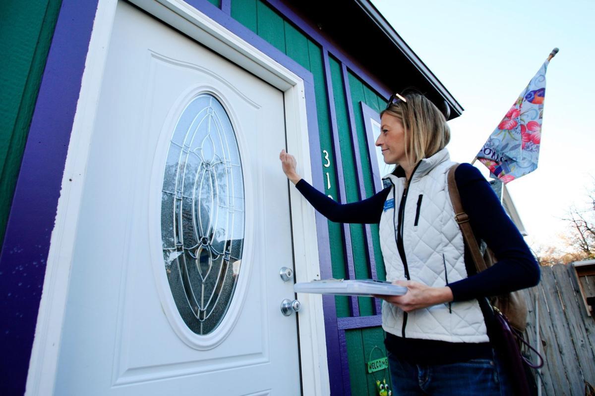 Jen Gross knocks on doors