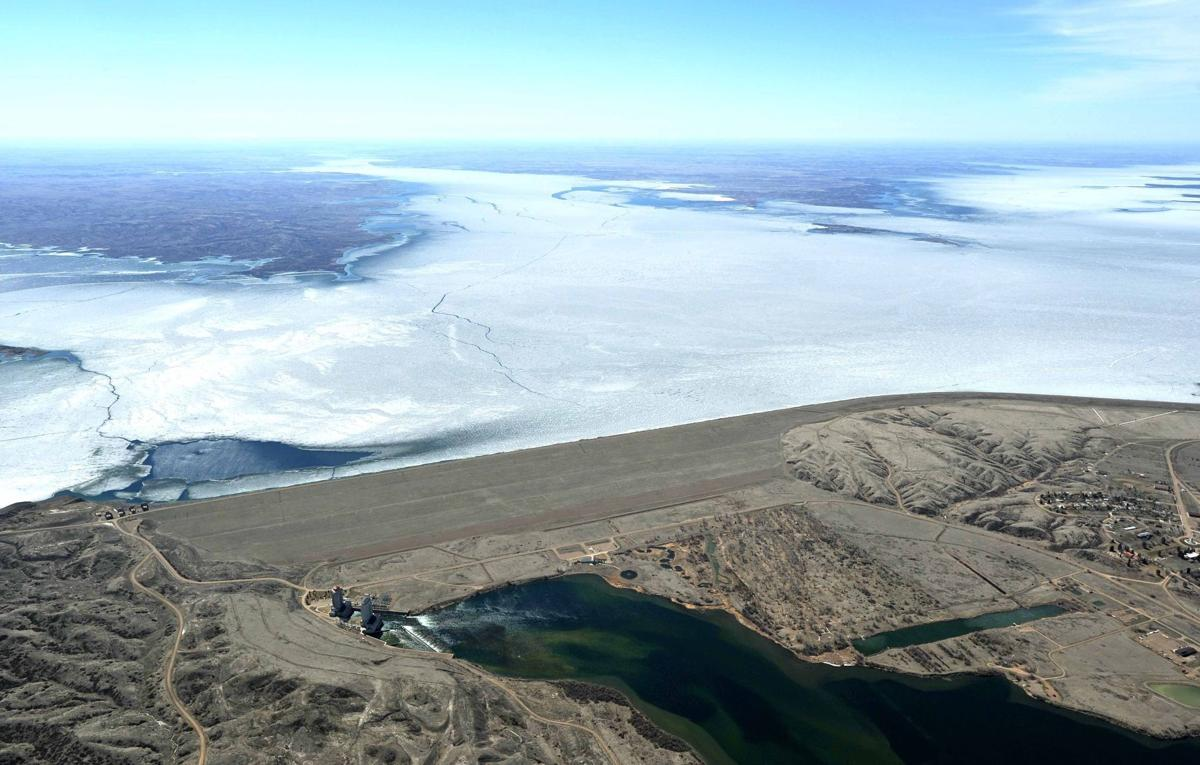 Fort Peck ice