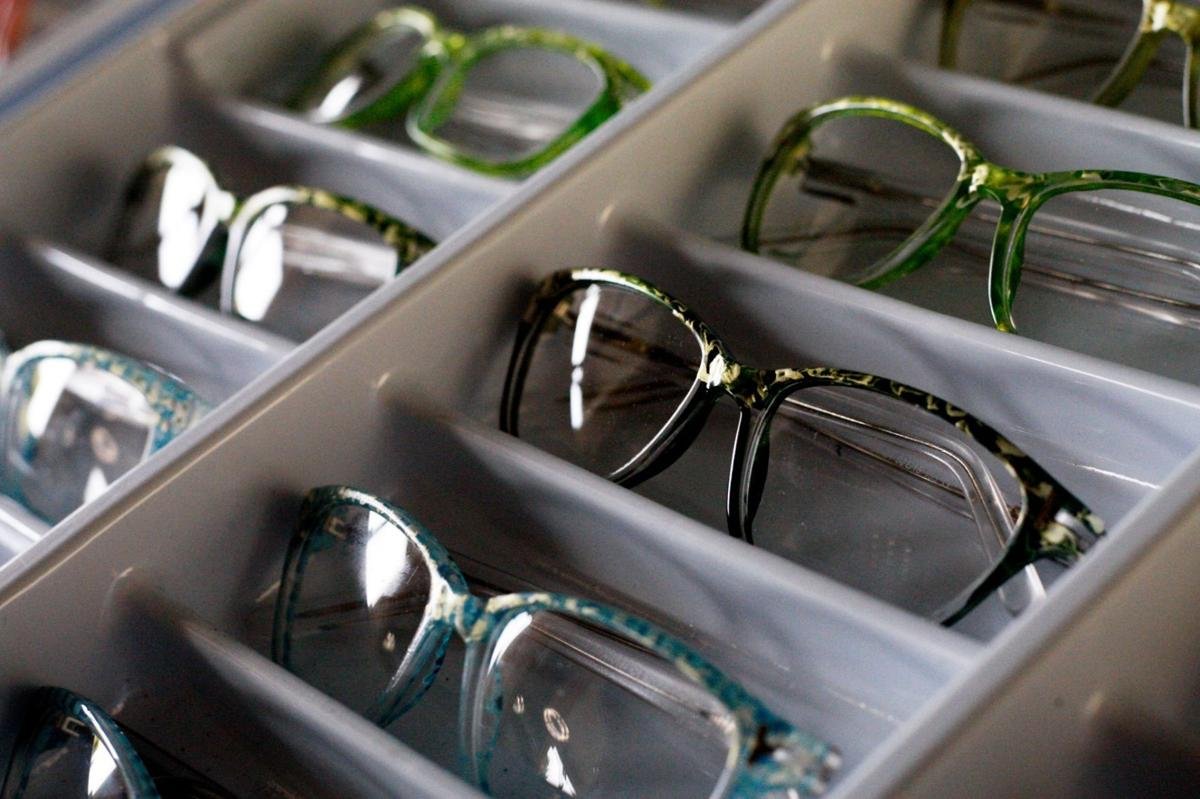 4761ebe7bd7 Hand-painted eyeglass frames are the focus of Biff Hagstrom s business