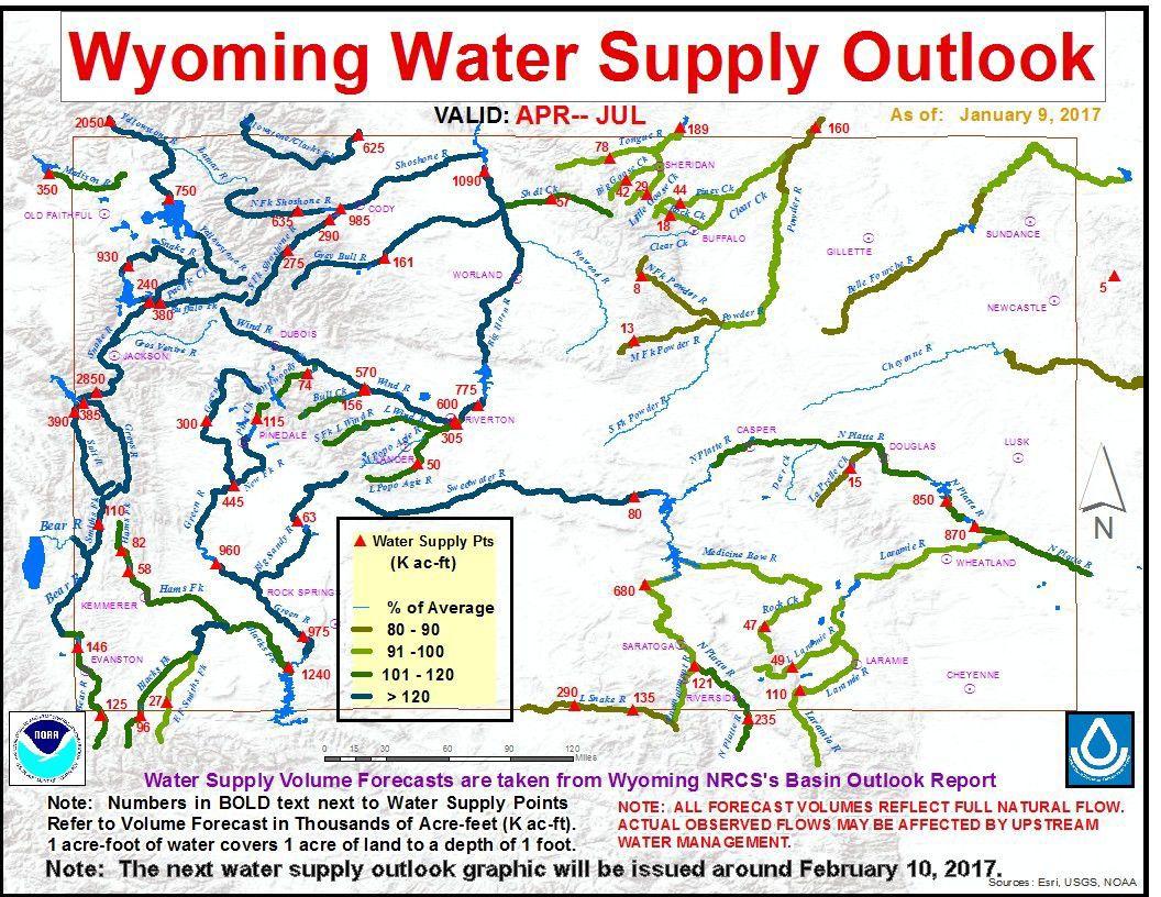 Wyoming water supply