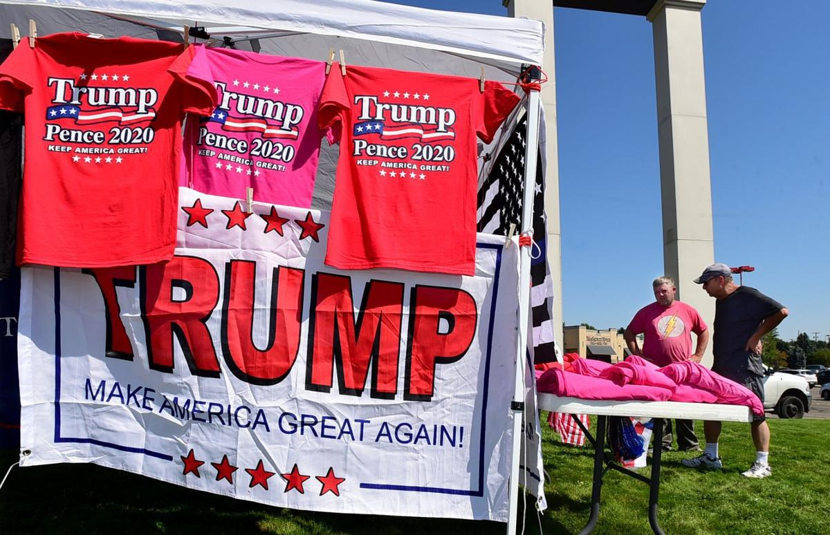Phil Colwell sells President Trump memorabilia