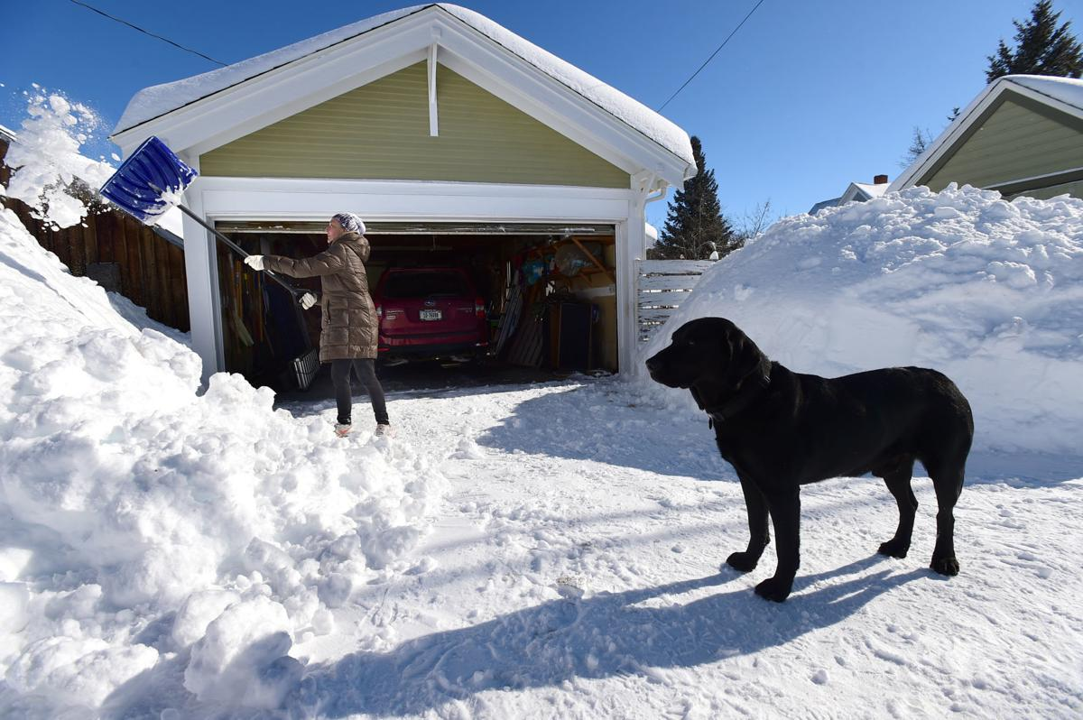 After Around 3 Feet Of Snow In A Week Red Lodge Residents Keep Digging Out Local News Billingsgazette Com