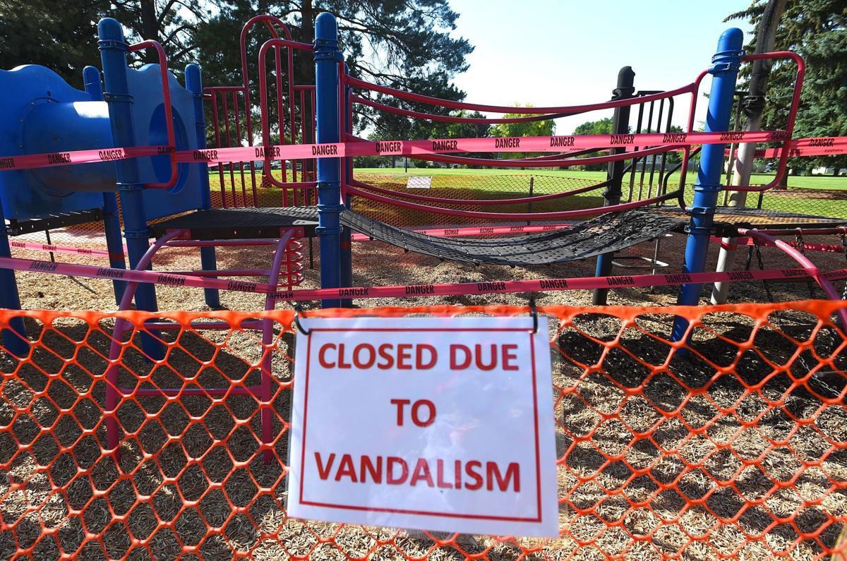 Optimist vandalism