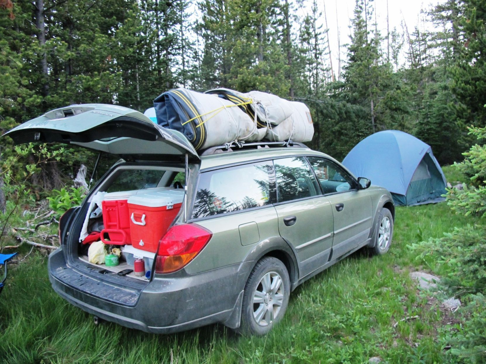 Car camping Dispersed camping sites offer alternative
