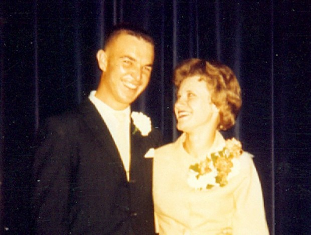 Dick and Jane Gradwohl in 1962