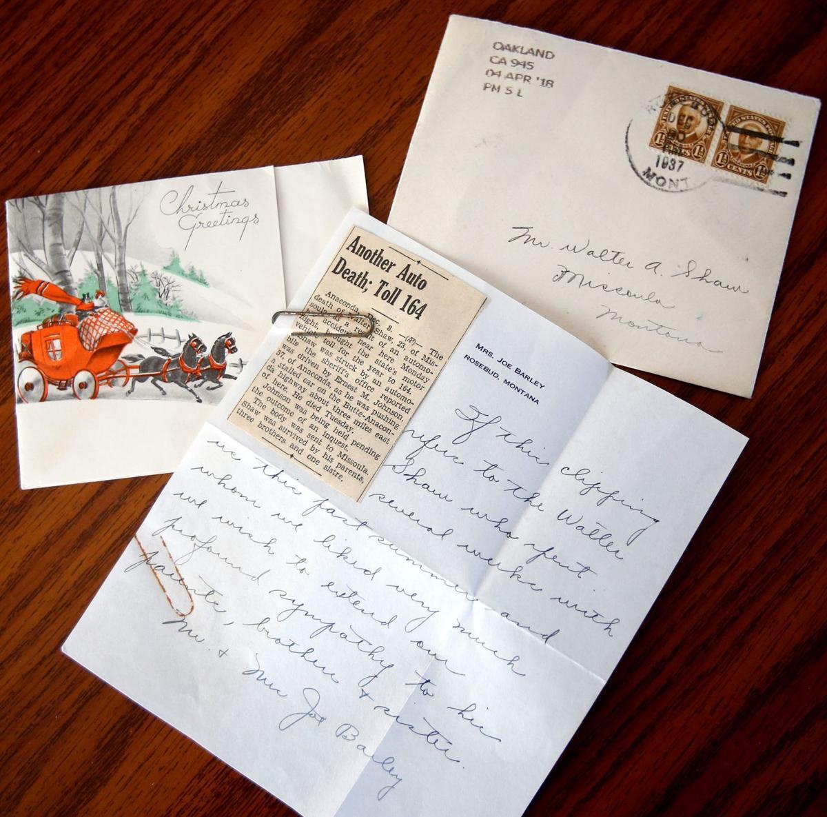 1937 Letter