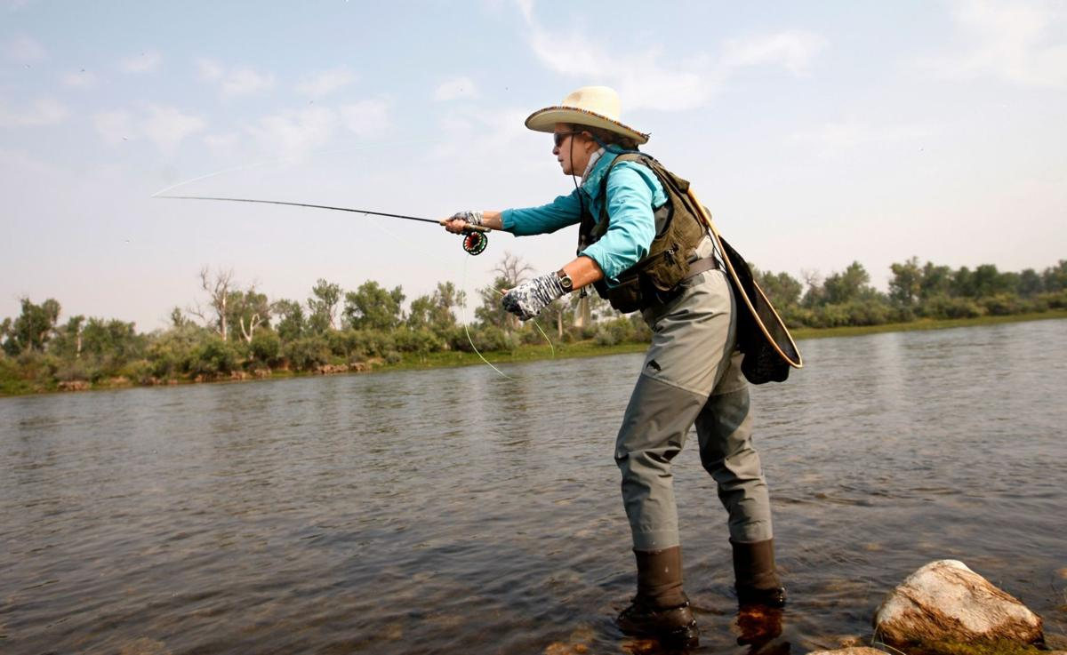Beginning fly fishing class offered on saturday outdoors for Beginning fly fishing