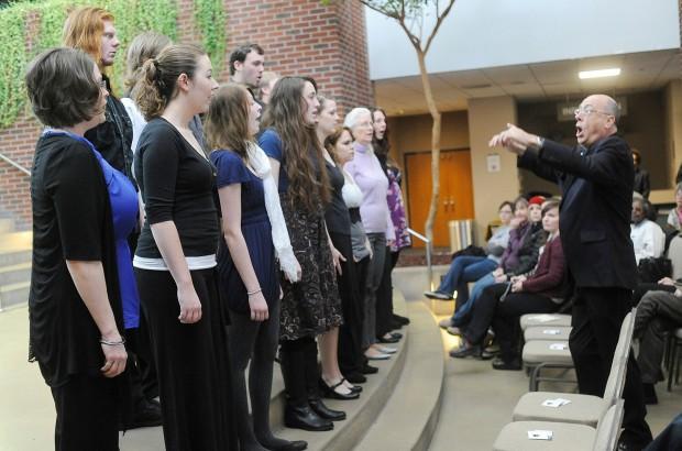 University Chorus sings for MLK Day
