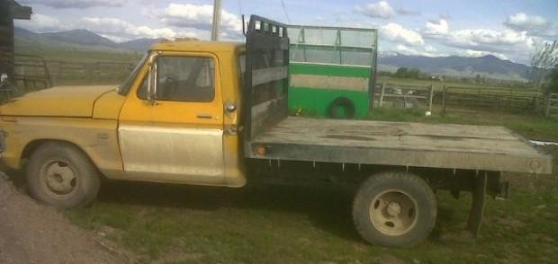 Josh Carter's truck