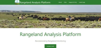 Rangeland Analysis Platform