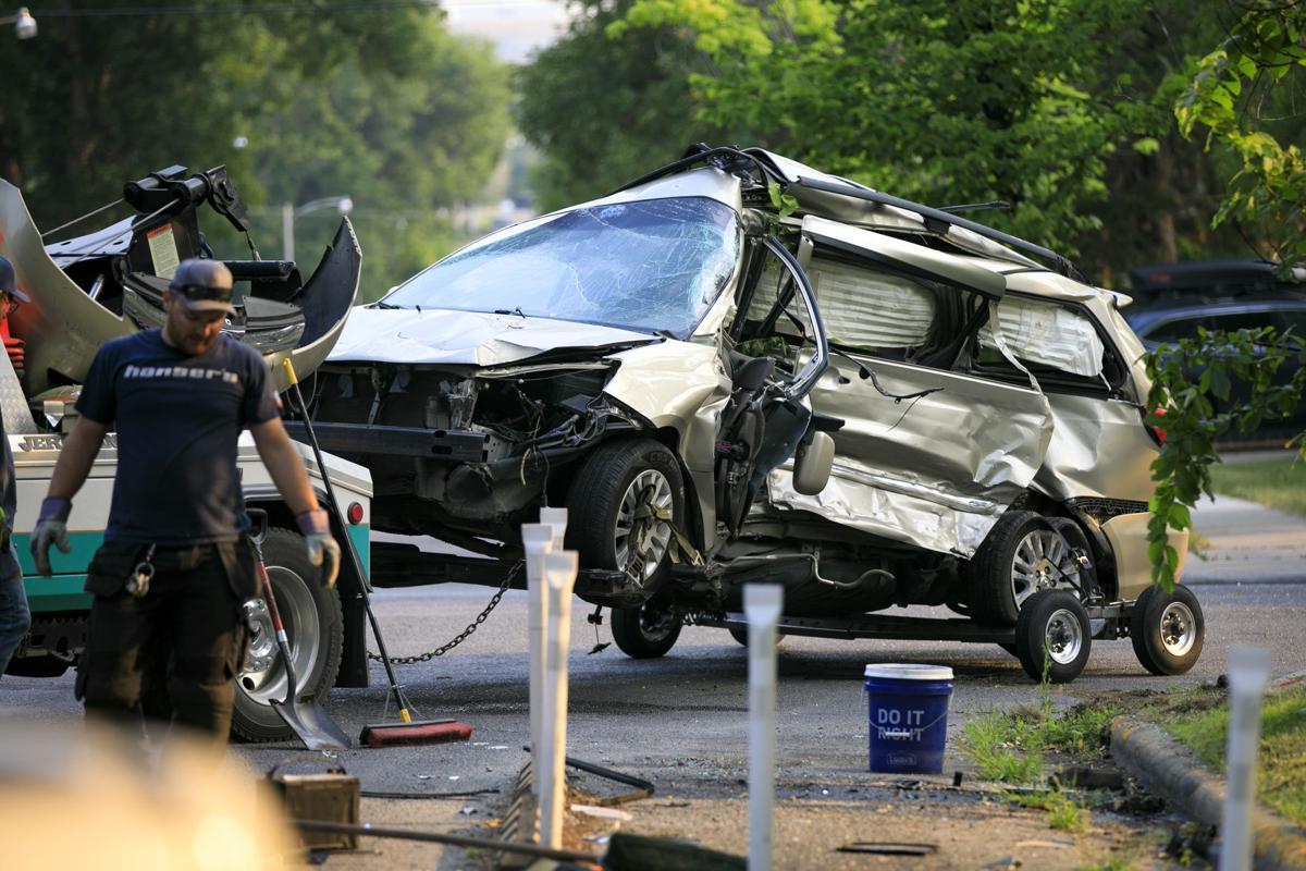 Sixth and Lewis crash