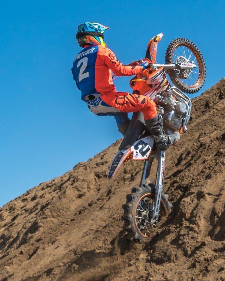 Famed motorcycle hillclimber Travis Whitlock