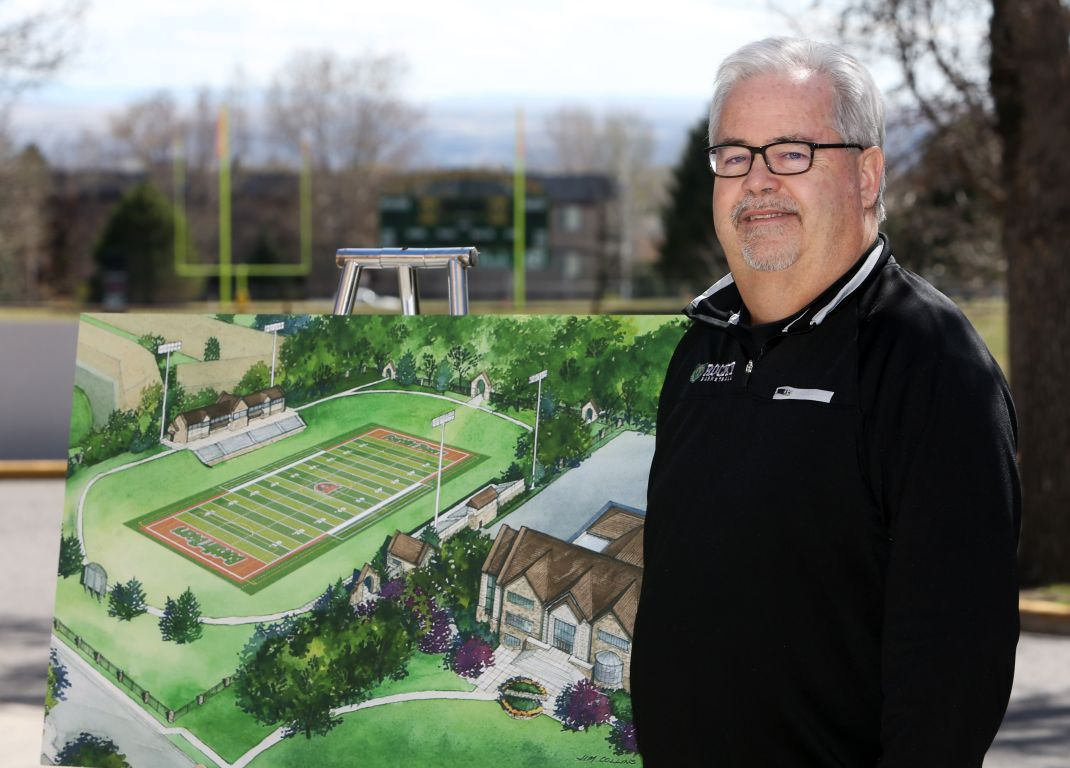 Rocky Mountain College athletic director Bruce Parker