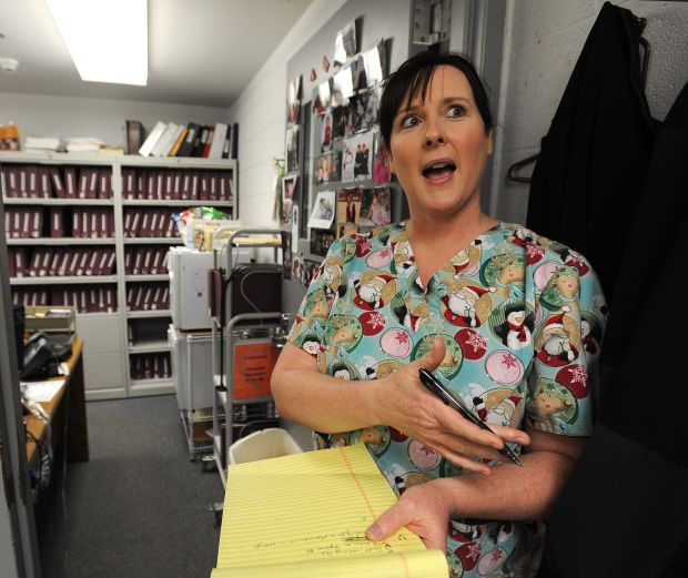 Dawson County jail medical coordinator Lynette Lovato