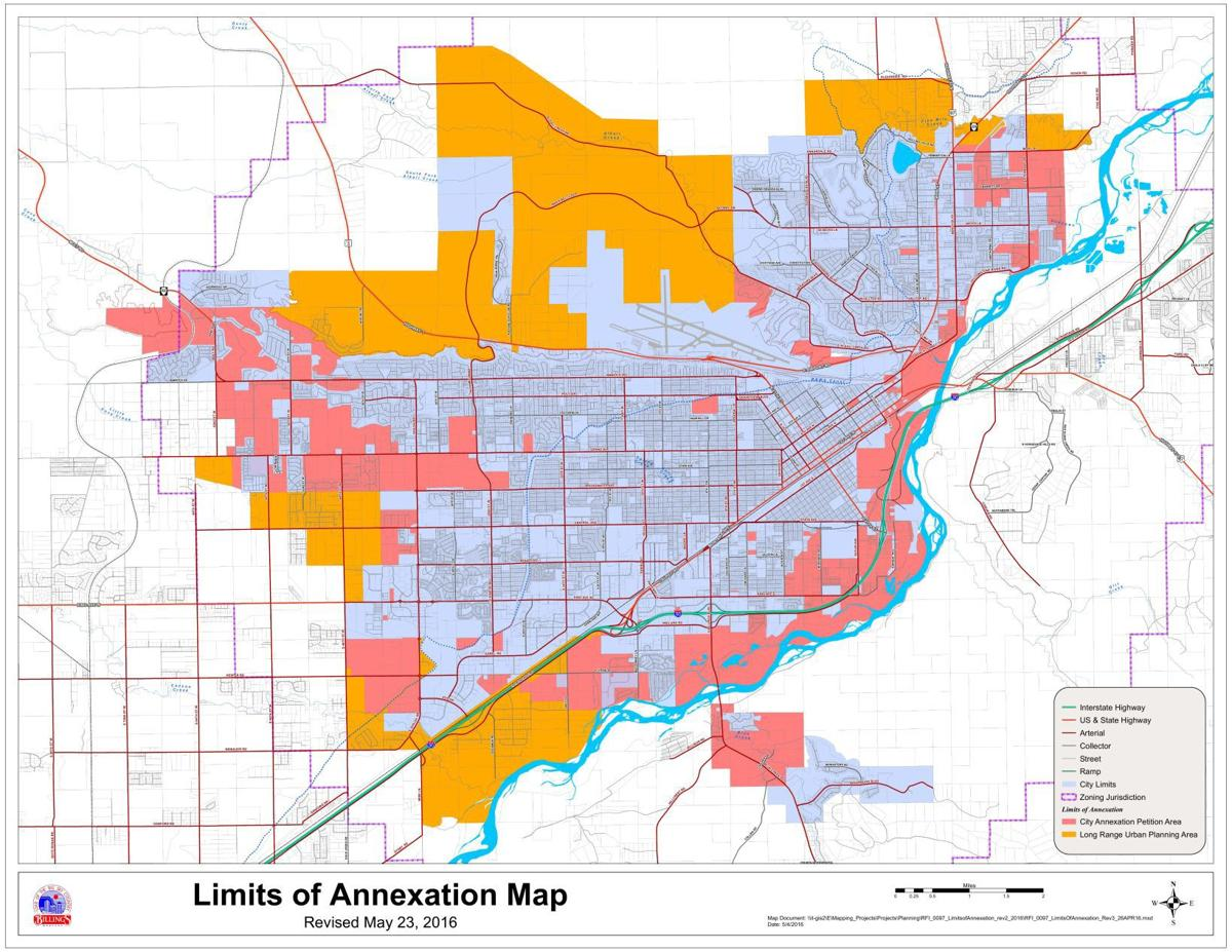Limits of Annexation Map | | billingsgazette.com