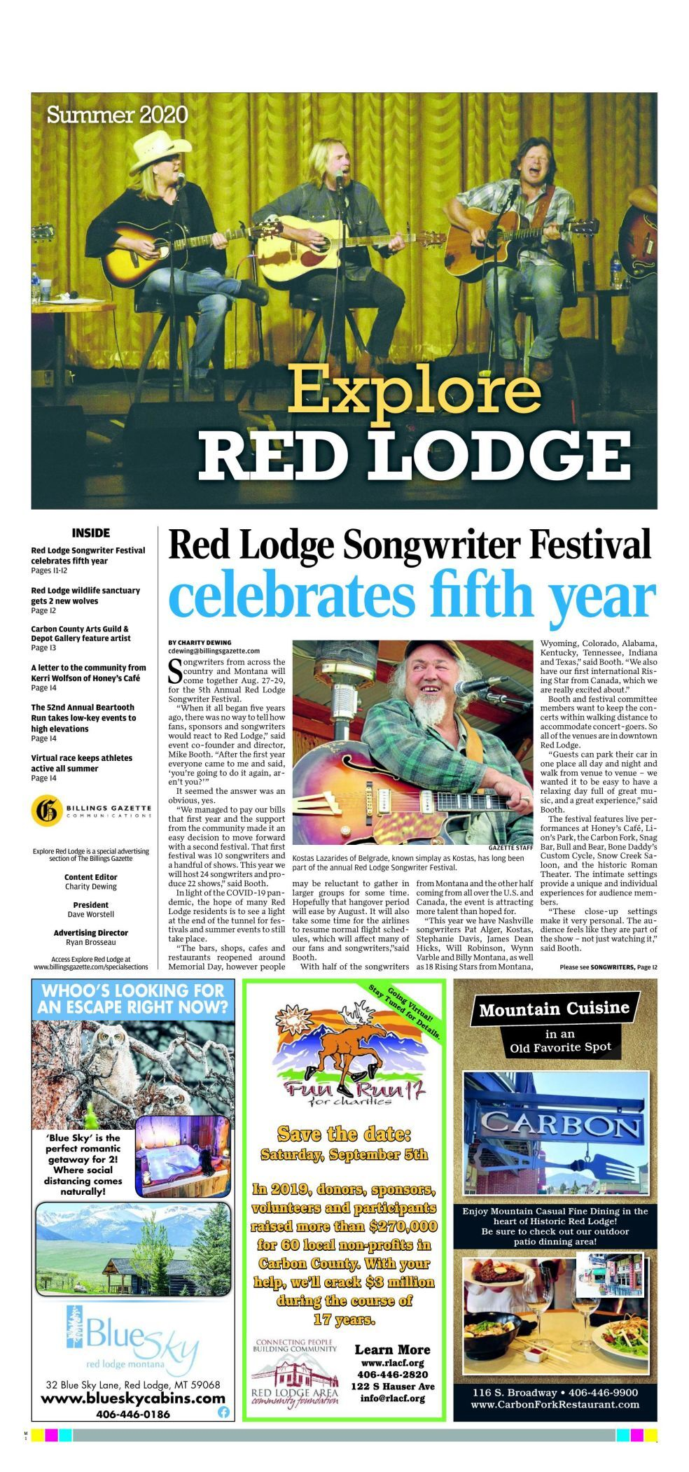 Explore Red Lodge — Summer 2020