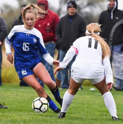 Bozeman at Skyview girls soccer