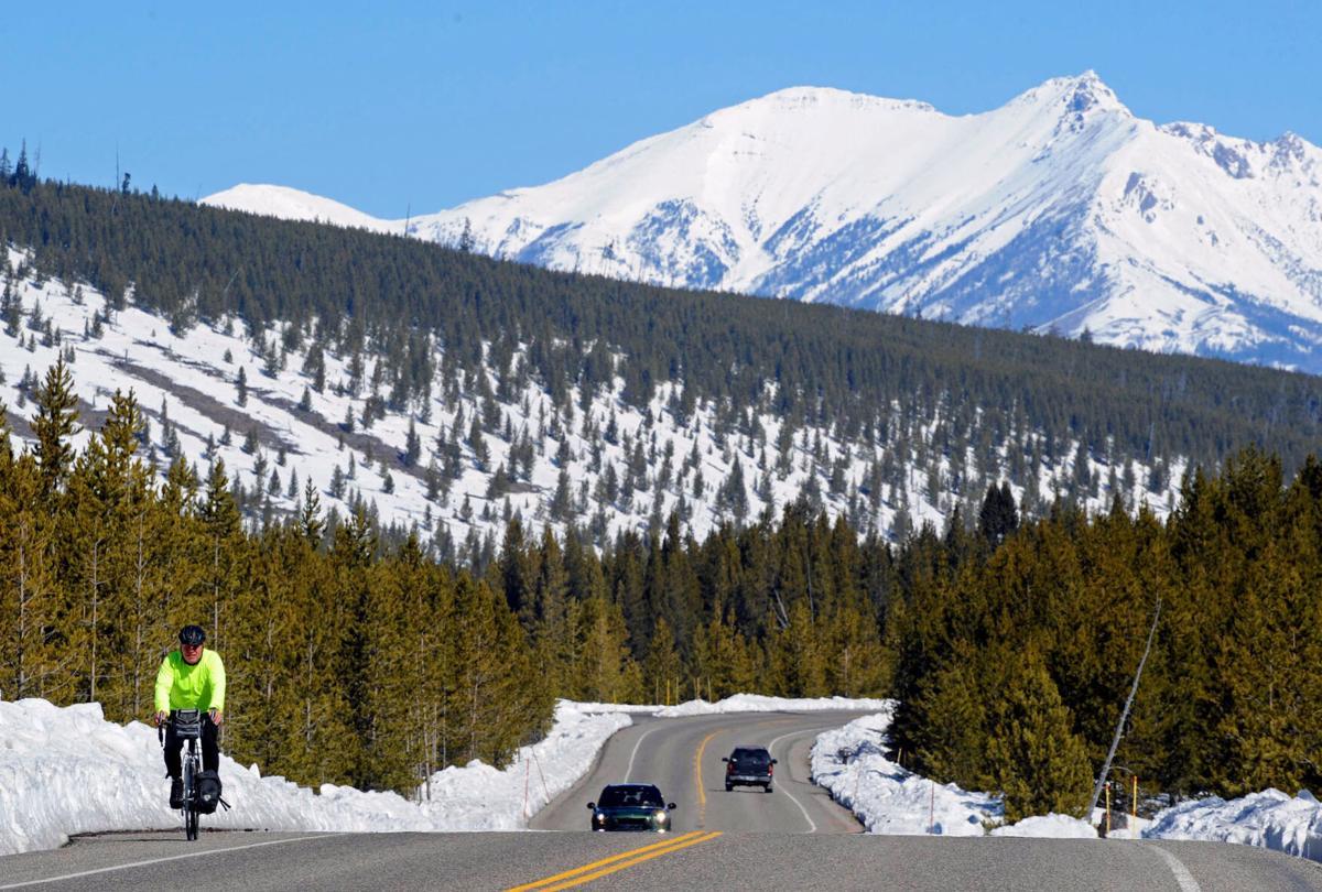 Yellowstone spring ride