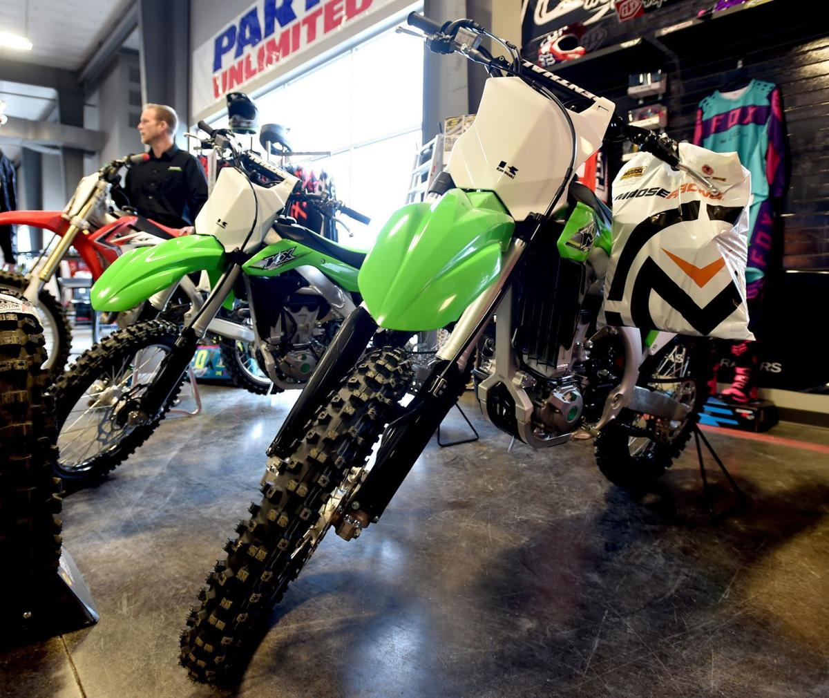 Kawasaki dirtbikes