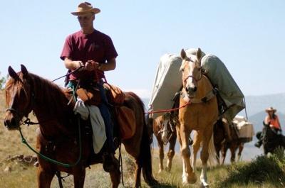 Trail riding