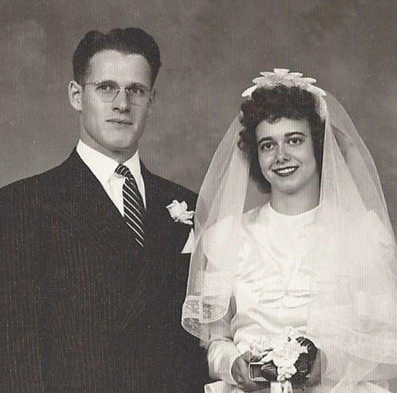 Harry and Vi Van Sickle in 1946