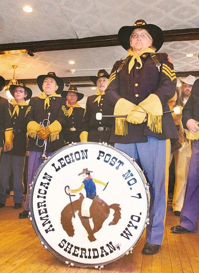Cavalry Drum & Bugle Corps a Sheridan icon
