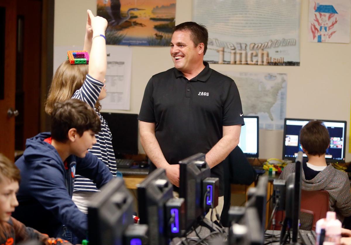 Castle Rock Middle School teacher Randy Chase