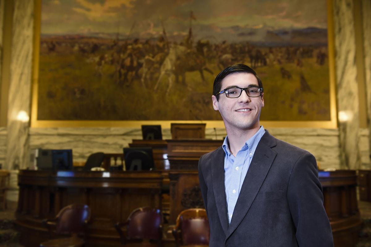 Rep. Jacob Bachmeier, 18, of Havre