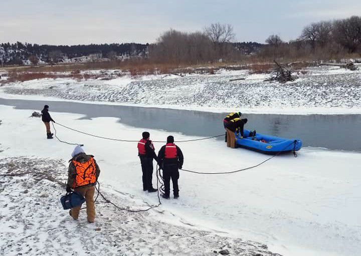 Musselshell River rescue