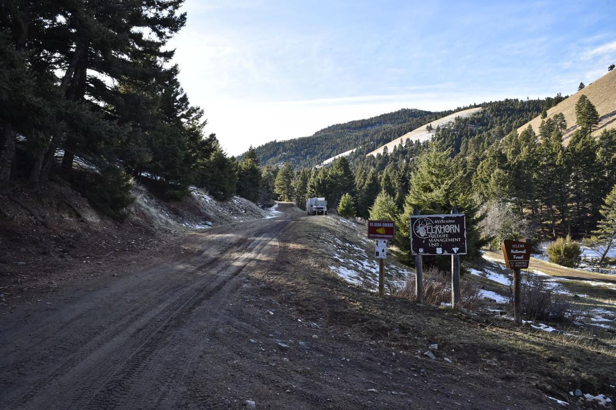 Weasel Creek Road