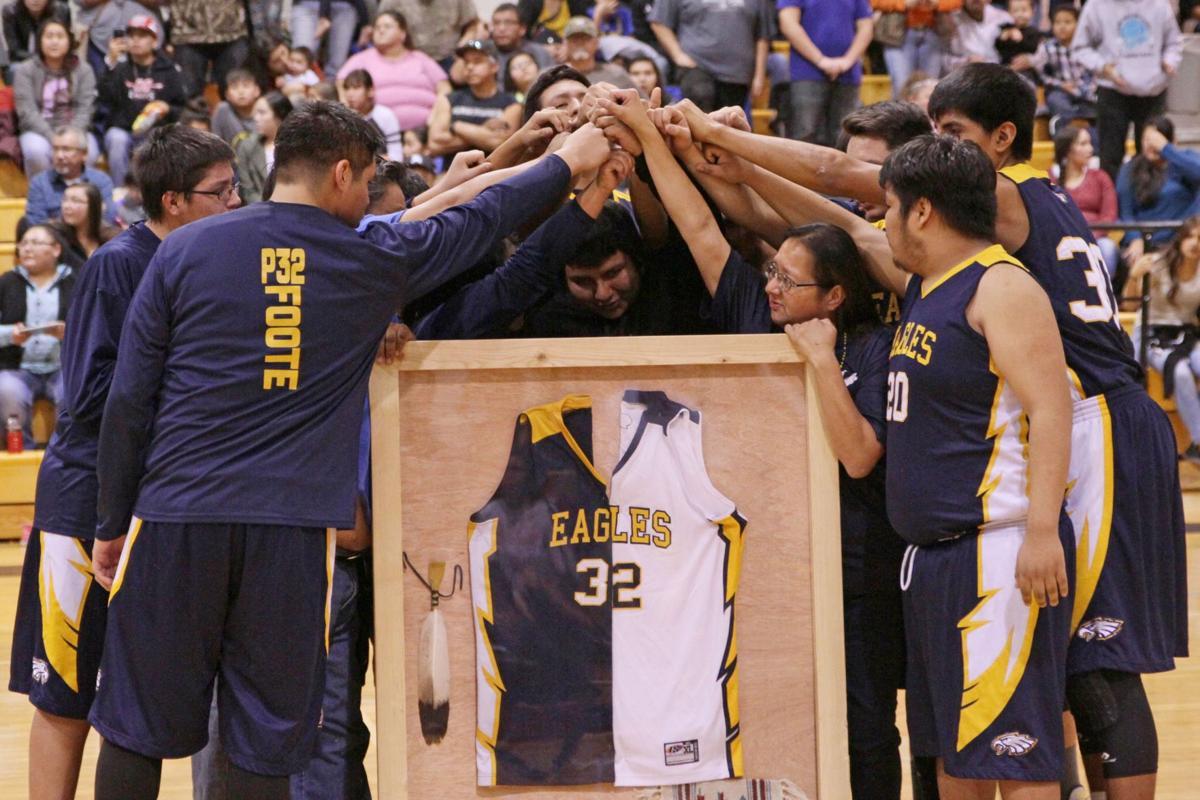 Paul Foote framed jersey