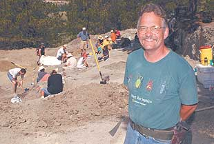 Fossil hunter still digging 15 years after finding his 'first love'