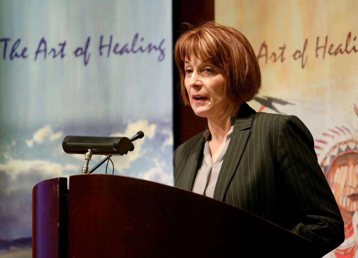 Montana Department of Public Health and Human Services Director Sheila Hogan