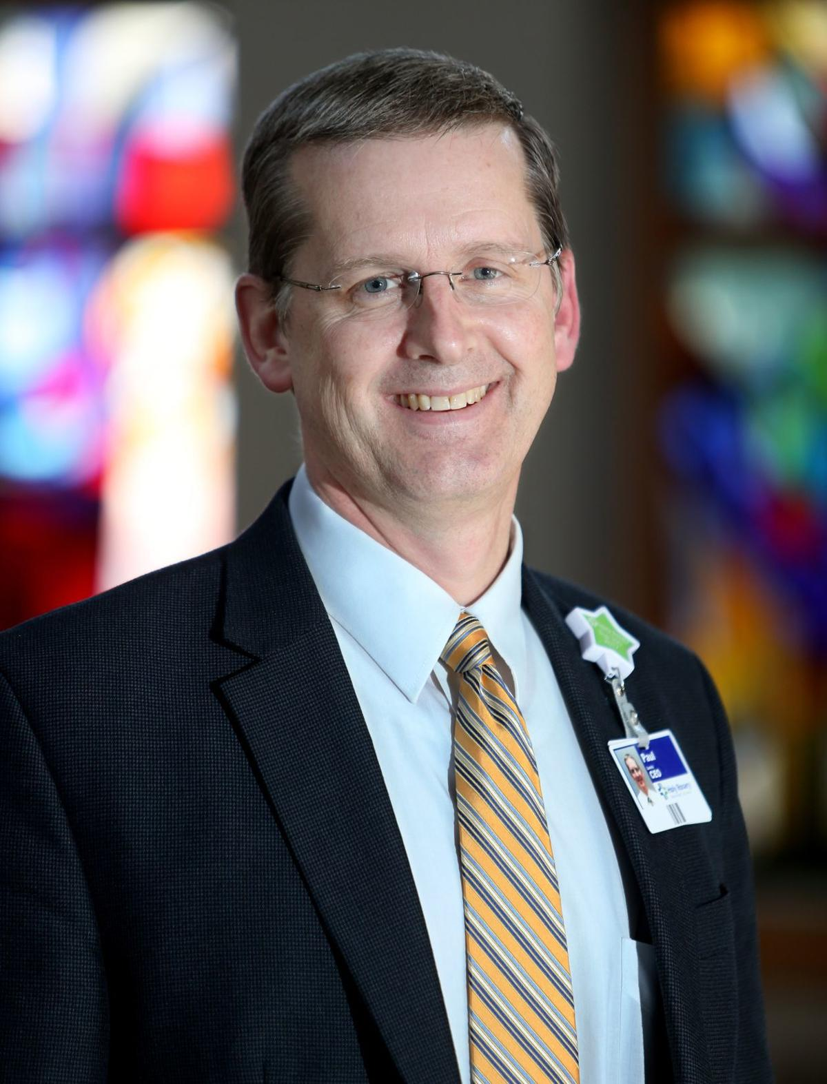 Holy Rosary Healthcare President Paul Lewis
