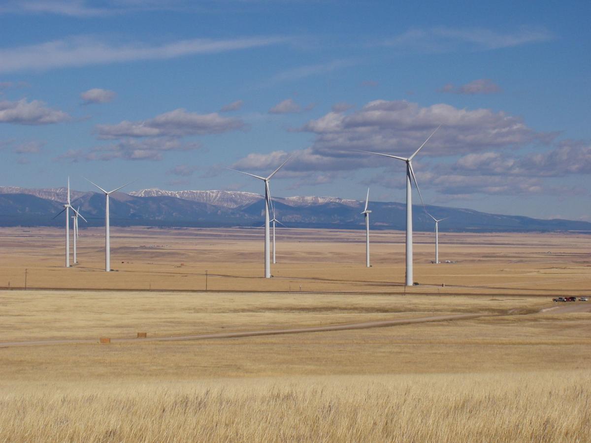 This wind farm near Judith Gap