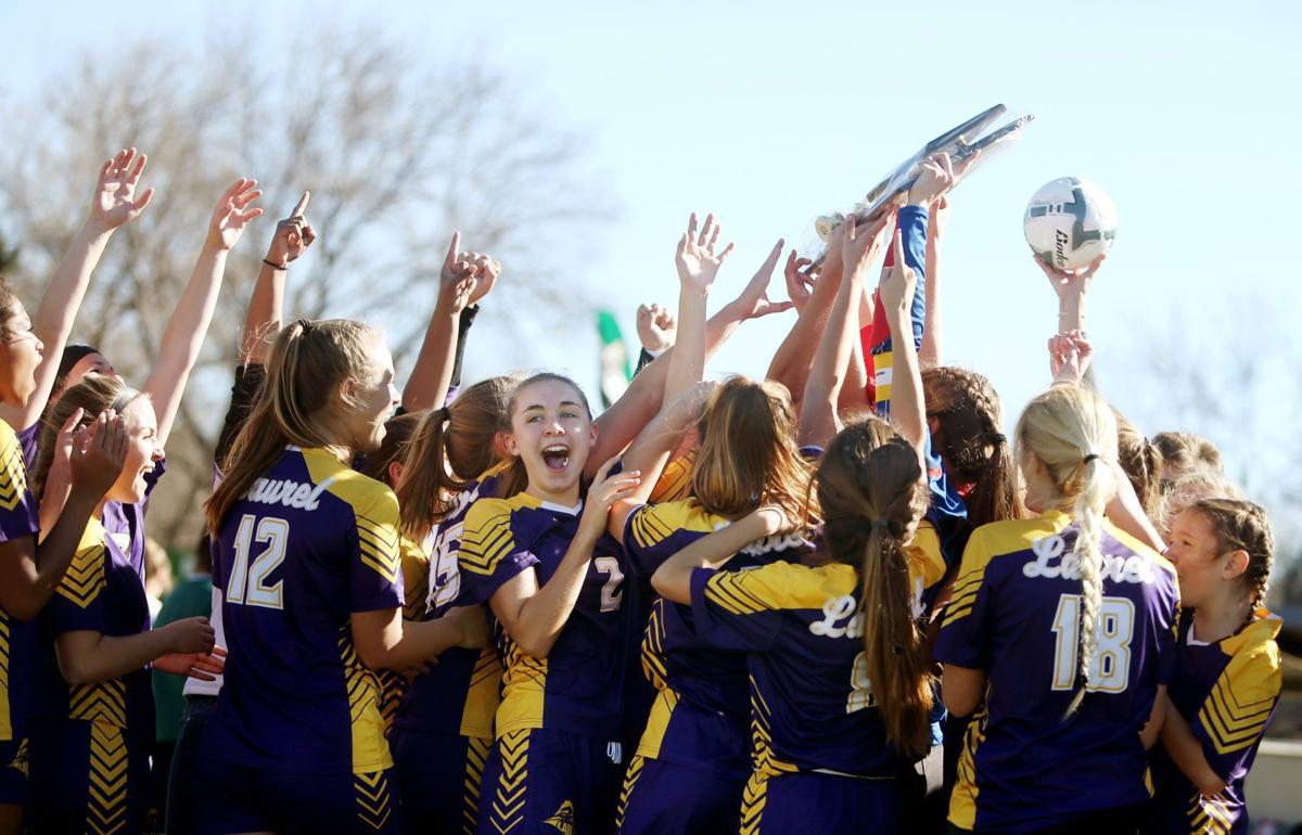 Class A girls soccer championship