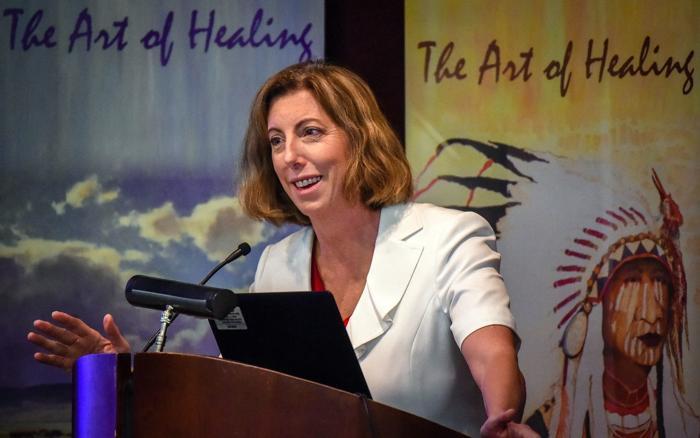 Conference sheds light on struggles of female veterans