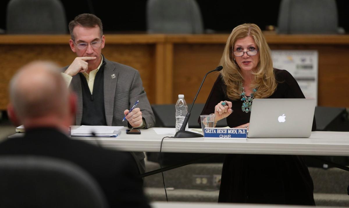 Superintendent candidate Greg Upham