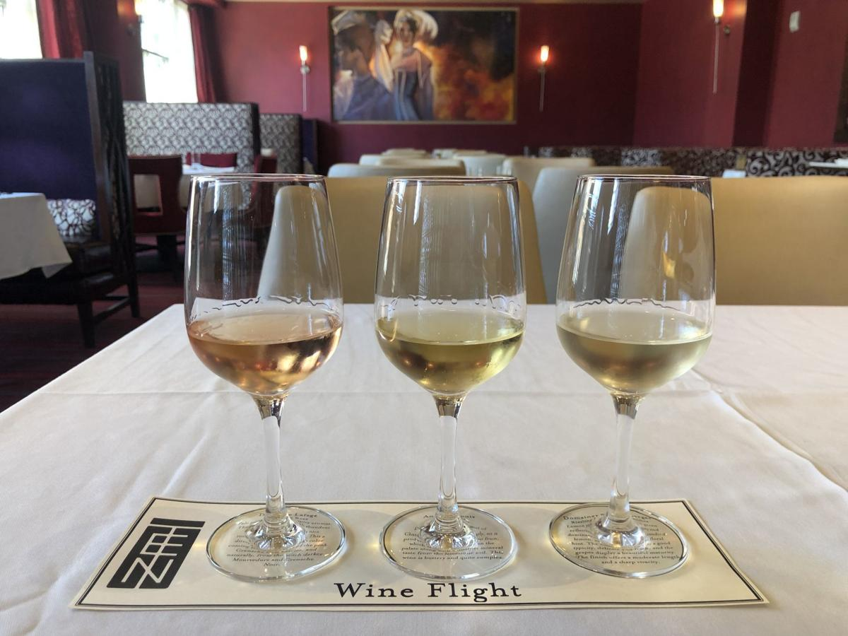 French Wine Flight at TEN