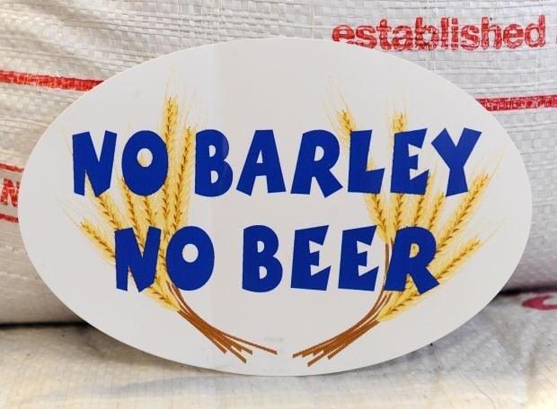 No barley, no beer