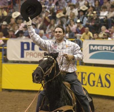 6. Clay Tryan becomes a three-time world champion.