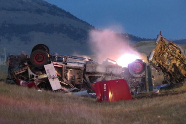 Highway 12 wreck