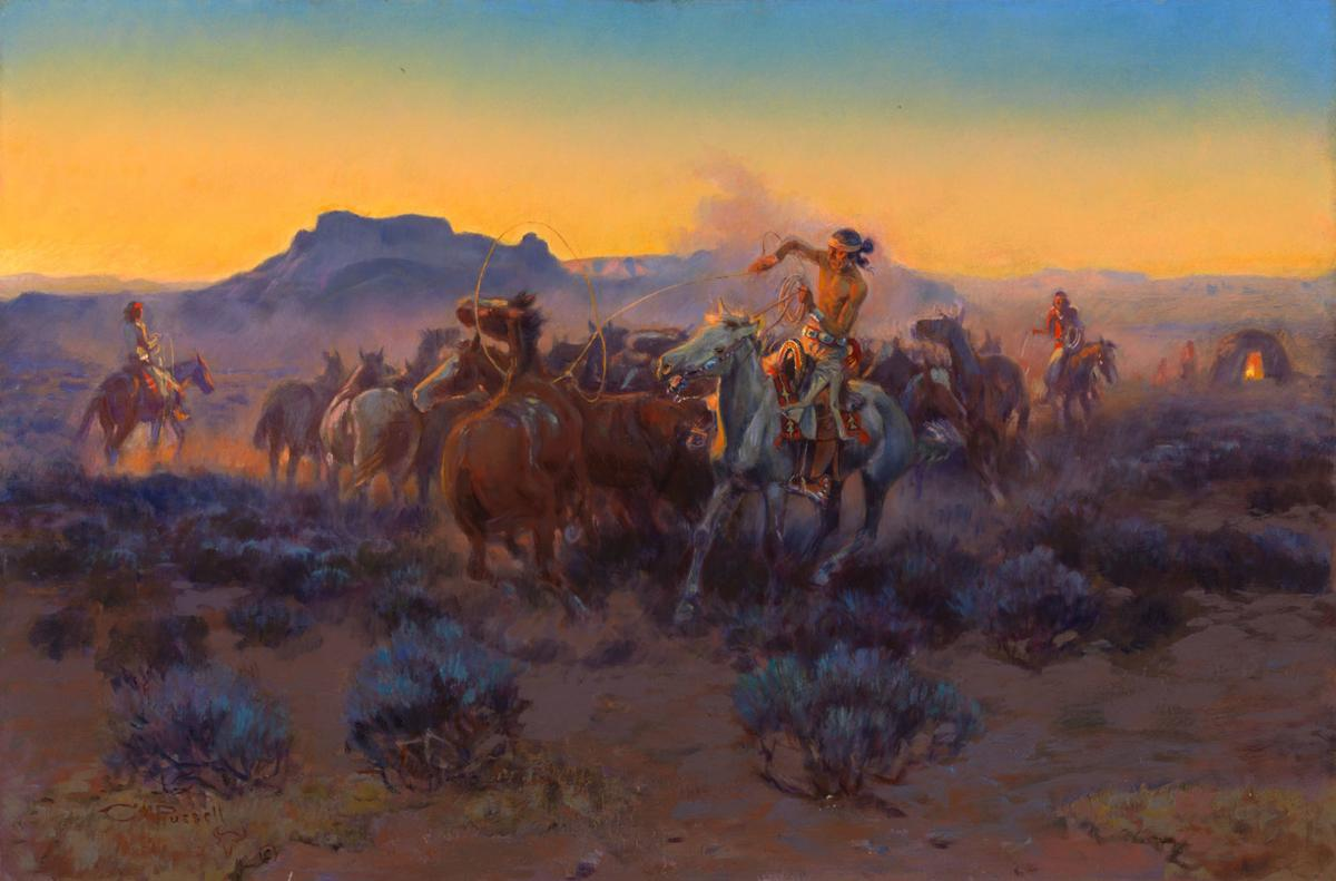 52eeb9e0d2d C.M. Russell paintings pulled from private and public collections ...