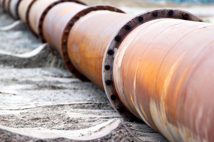 oil pipeline stock stockimage