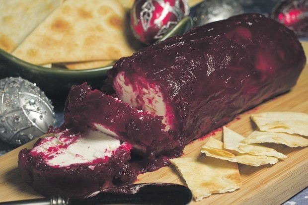 Food Deadline Cranberry Cheese