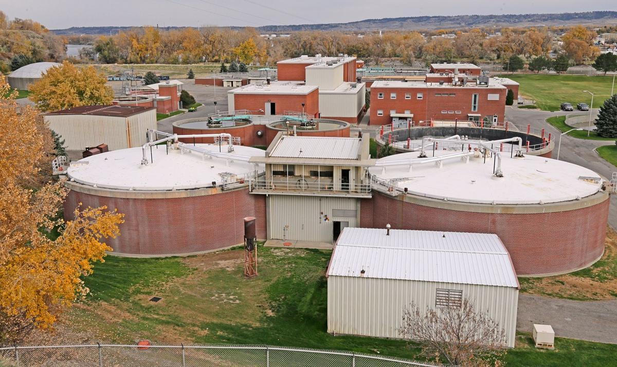 Billings waste water treatment plant