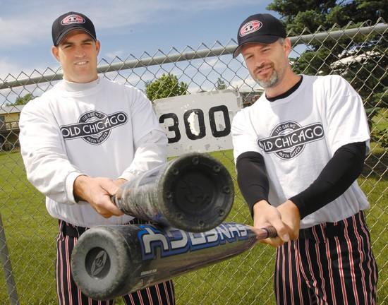 Softball sluggers are Stewart Park's version of Bonds & Pujols