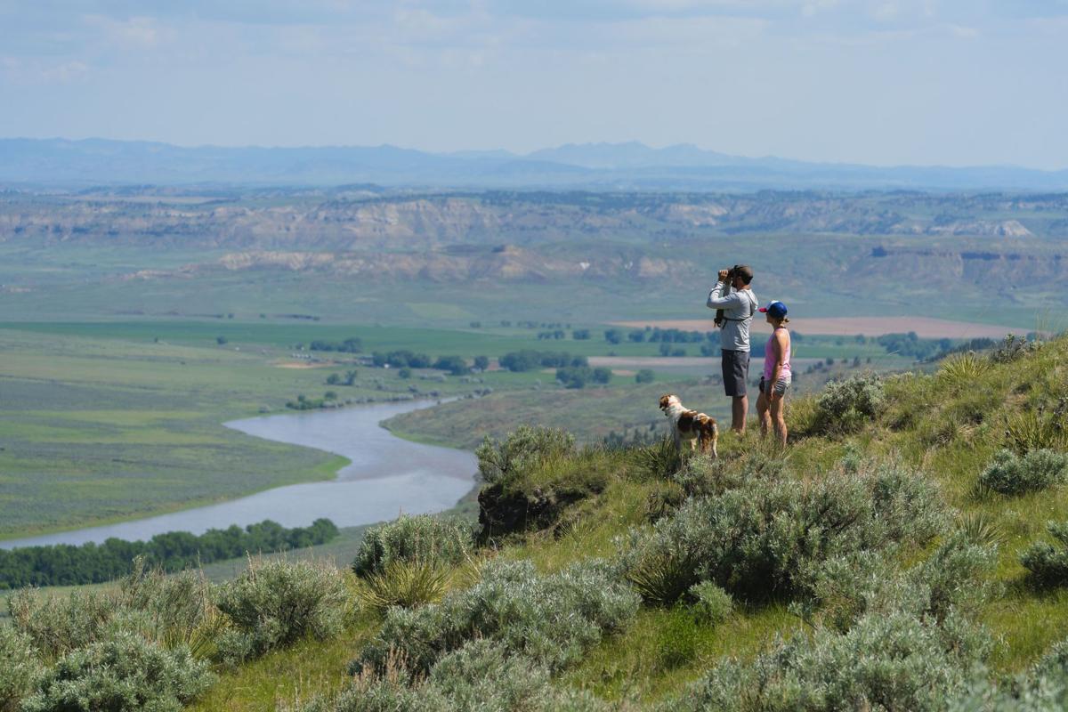 Prairie tourists